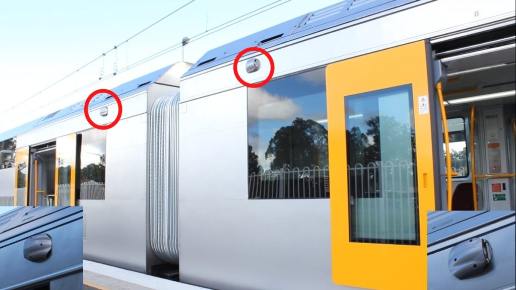 CCTV on trains both deters crime from happening and helps criminals get caught