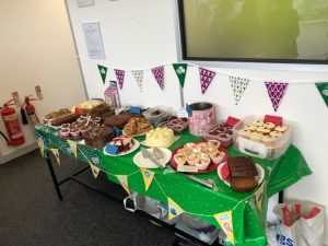 Macmillan World's Largest Coffee Morning Cake Sale event