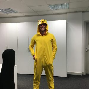 "Fundraising fun for ""Children in Need"""