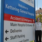 Delivering In2tec Donated Face Shields to Kettering General Hospital