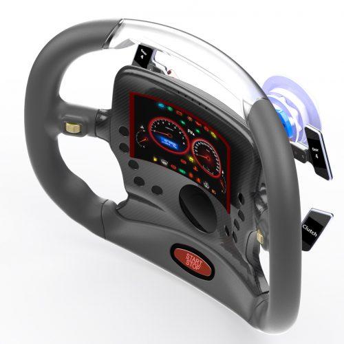 In2tec Steering Wheel Concept
